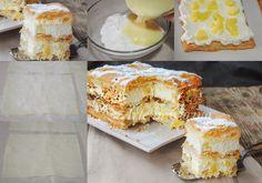 Millefoglie all'ananas con crema diplomatica veloce vickyart arte in cucina