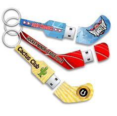 A great way to preserve hockey memories! Mini Hockey USB Sicks available in 1, 2, 4 and 8 GB.