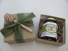 Mini Gift Basket - Honey - Gift Box - Mother's Day, Christmas, Birthday via Etsy