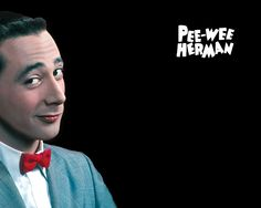 Pee-wee's wallpaper. I put this on my desktop last week and I can't begin to say how happy it makes me every day. Pee Wee is the best.