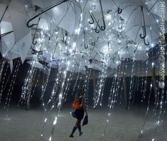 The Wet Dream by Warm Baby Burning Man 2011 Night Umbrellas by Dust To Ashes, via Flickr
