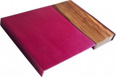 Aluminum and Wood Challah Board Red