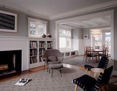 graue Designs kamin sofa stuhl idee