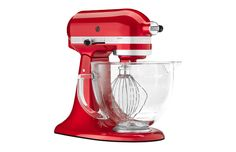 Kitchen Aid Mixer in candy apple red :)