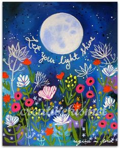 What makes you shine? Let your light shine by Regina Lord Mundo Hippie, Let Your Light Shine, Happy Thoughts, Beautiful Words, Positive Quotes, Art Paintings, Reiki, Illustrations, Artsy