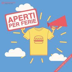 Aperti per ferie  #burgerprint #burger #print #aperti #apertiperferie #color #natural #tshirt #custom #design #artwork #ink #online #instalike #instacool #instafashion #natalike #instagram #summer #summer16
