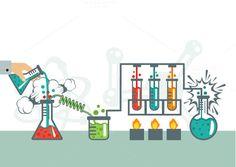 Chemistry Illustration by Magurok on Creative Market