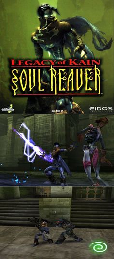 #RetroGaming #Raziel challenges #Kain's rule over #Nosgoth after years of being imprisoned! http://www.levelgamingground.com/legacy-of-kain-soul-reaver-review.html