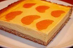 Blitz - Käsekuchen mit Mandarinen vom Blech, ein sehr leckeres Rezept aus der Kategorie Kuchen. Bewertungen: 37. Durchschnitt: Ø 4,4.