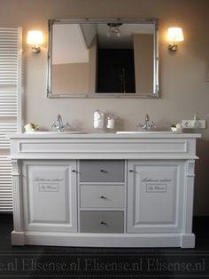 Landelijke badkamer Doble