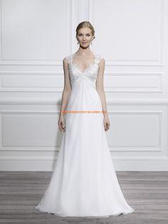 Robe de mariée 2014 dentelle mousseline dos nu