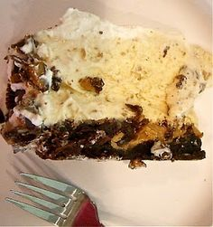 Reese's Peanut Butter Brownie Ice Cream Cake recipe. Yummy!!!