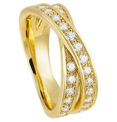 Moncara Diamant-Ring Gelbgold 585   GALERIA Kaufhof