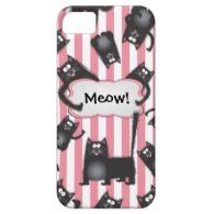 Funky fuzzy Kitty Cat iPhone4 case iPhone 5 Case