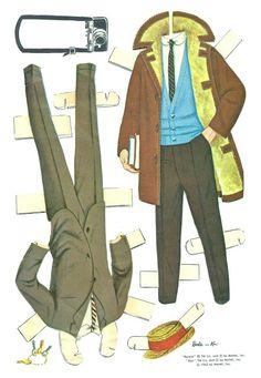 1962 Barbie and Ken paper doll clothes / picasaweb.google.com
