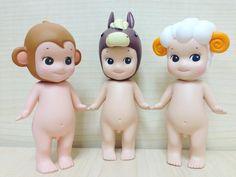 """#sonnyangel #monkey #horse #sheep #toy #instagood #cute"""