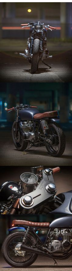 Backyard build: Dave Lehl's Honda CB550     http://motofanatics.blogspot.co.uk/2014/11/backyard-build-dave-lehls-honda-cb550.html