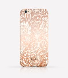 Zentangle Pattern iPhone Case