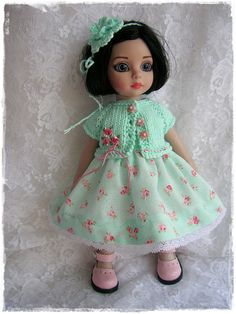 Light Patsy in Rosy Mint Green Dress n Knit | Flickr - Photo Sharing!