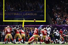 David Akers nails a 36-yard field goal in the first quarter to get the 49ers on the board. Super Bowl XLVII - Feb 3, 2013