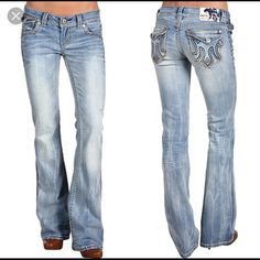 SALE MEK jeans 28L Cute light wash MEK jeans. They fit and are quite sassy, but I like darker jeans. These are an older style but in near perfect condition MEK Jeans Straight Leg