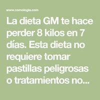 Podemos continuar con la dieta GM durante los períodos