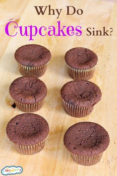 Why do Cupcakes sink?