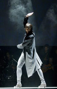 Spanish flamenco dancer Joaquin Cortés.