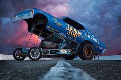 All kinds of cars from the pinnacle of automotive development. Funny Car Drag Racing, Nhra Drag Racing, Funny Cars, Jungle Jim Liberman, Pam Hardy, Lightning Aircraft, Dragster, Jungle Jim's, Drag Cars