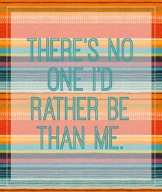 Your Weekly Disney Style Affirmation: There's No One I'd Rather Be