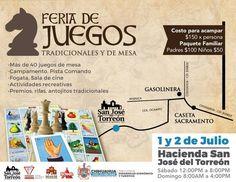 <p>Chihuahua, Chih.- El Gobierno Municipal te invita este fin de semana a acampar con tu familia en la Ex Hacienda de San José del Torreón y