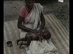 Shantala-Leboyer filme com a própria Shantala massageando seu bebê!!