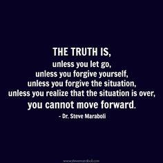 ...you cannot move forward. #quote #letgo