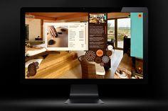 Website for Bozi Oko wellness hotel.