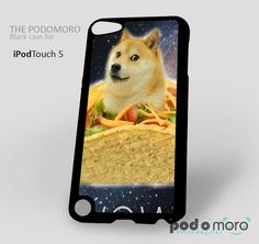 Doge Taco Wow for iPhone 4/4S, iPhone 5/5S, iPhone 5c, iPhone 6, iPhone 6 Plus, iPod 4, iPod 5, Samsung Galaxy S3, Galaxy S4, Galaxy S5, Galaxy S6, Samsung Galaxy Note 3, Galaxy Note 4, Phone Case