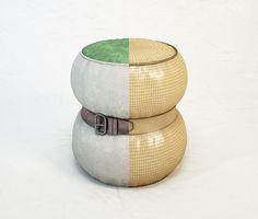 DIESEL Chubby Chic pouf S by Moroso free 3D Model by Aplusstudio