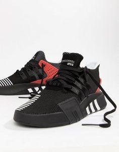 Image 1 of adidas Originals EQT Bask ADV Sneakers In Black AQ1013 Black  Adidas Shoes d717af1bd