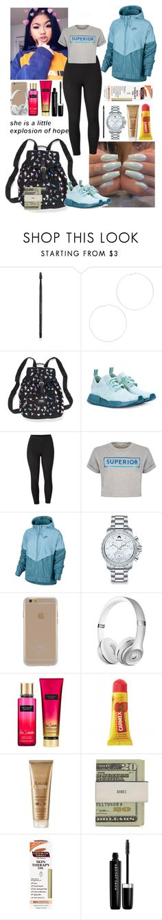 """"""""""" by azariaaaaaa ❤ liked on Polyvore featuring Charlotte Russe, Kenneth Jay Lane, Victoria's Secret PINK, adidas Originals, Venus, Être Cécile, NIKE, Movado, Agent 18 and Victoria's Secret"""