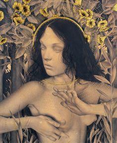 Alessandra Maria, Lauren Modern Gothic, Mona Lisa, Artwork, Work Of Art, Auguste Rodin Artwork, Artworks, Illustrators