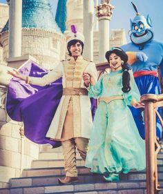 Cute Disney, Disney Dream, Disney Magic, Disney Pixar, Walt Disney, Disney Bound, Aladdin Musical, Musical Theatre, Aladdin And Jasmine