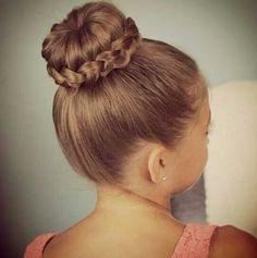 Love braided buns!