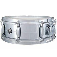 "Gretsch Brooklyn Chrome over Brass 5 x14"" Snare Drum"