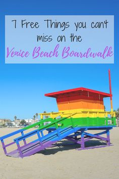 Are you looking for cheap and free things to do in Venice Beach? In my post you will find 7 free & super fun things to do on the Venice Beach Boardwalk! via Cheapskate Girl Venice Beach California, Los Angeles California, California Travel, Southern California Beaches, Santa Monica, San Diego, San Francisco, Seattle, Los Angeles Travel