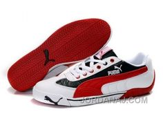 87b9d46177e5e2 Discover the Men s Puma Speed Cat In White Red Black Lastest collection at  Pumacreeper. Shop Men s Puma Speed Cat In White Red Black Lastest black