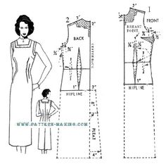 How to draft a Sheath Dress---I have been looking for this!  Purchased dresses never fit me correctly.  Wonder if I can use this to fit a purchased dress?