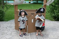 It's a Pirate Birthday Party! Argh!