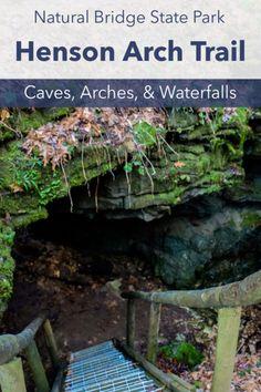 Red River Gorge Kentucky, Daniel Boone National Forest, Trail Guide, Slot Canyon, Beaver Creek, Natural Bridge, Trail Maps, Beautiful Rocks, Autumn Trees