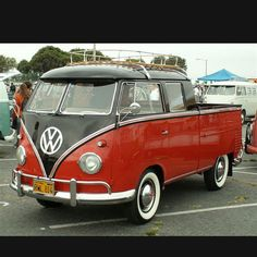 Double Cab Deluxe - Never built by VW but a cool take on a style