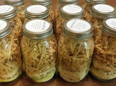 Cooking With My Food Storage: Meal in a Jar--Chicken Noodle Soup