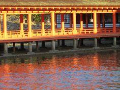 Itsukushima Shrine, Miyajima Japan, November 2013 by Yolaida Durán